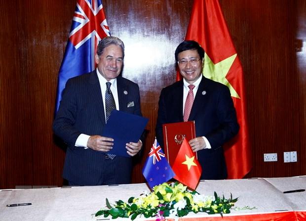 Viet Nam de nghi New Zealand tao dieu kien de xuat khau nong san hinh anh 1