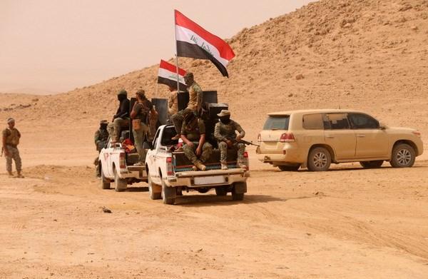 Iraq tan cong thi tran cuoi cung do to chuc IS kiem soat hinh anh 1