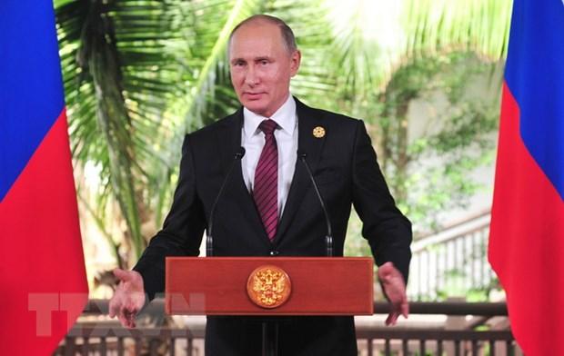 Tong thong Putin danh gia cao chu de ma Viet Nam dua ra tai APEC 2017 hinh anh 1