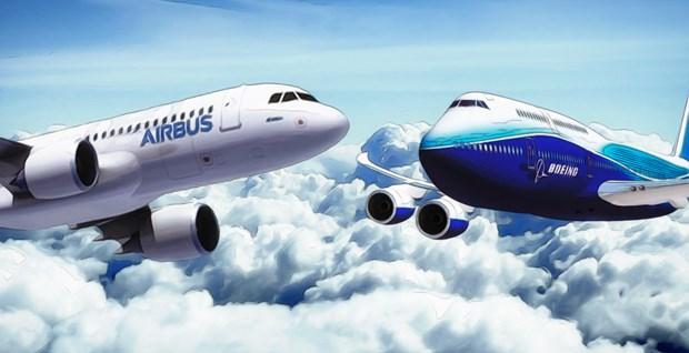 Airbus va Boeing cung thong bao cac thuong vu lich su hinh anh 1