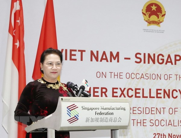Viet Nam dang la diem den hap dan cua cac doanh nghiep Singapore hinh anh 1