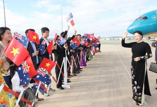 Chu tich Quoc hoi Nguyen Thi Kim Ngan tham chinh thuc Australia hinh anh 1