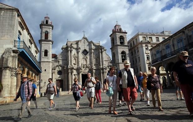 Cuba don gan 5 trieu du khach quoc te trong nam 2017 hinh anh 1
