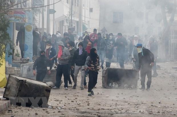 Tunisia: It nhat 600 nguoi da bi bat giu trong cac vu dung do hinh anh 1