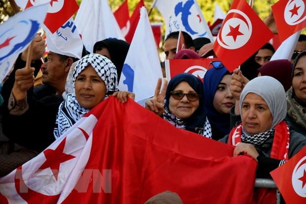 Tunisia: Tuan hanh ky niem cuoc chinh bien lat do nha lanh dao Ben Ali hinh anh 1