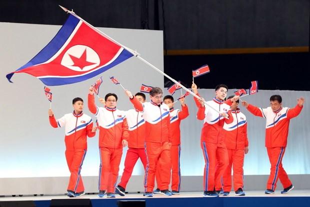 IOC: 22 van dong vien Trieu Tien se thi dau o Olympic PyeongChang 2018 hinh anh 1