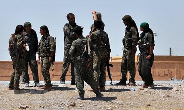My ngung cung cap vu khi cho luc luong nguoi Kurd tai Syria hinh anh 1