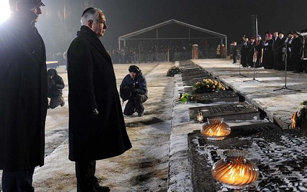 Israel-Ba Lan dam phan du luat lien quan tham hoa diet chung Holocaust hinh anh 1