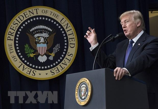 Tong thong My Donald Trump tuyen bo khong dam phan voi Taliban hinh anh 1
