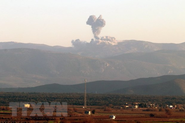 Quan giai phong Syria kiem soat them mot so khu vuc tai phia Bac Afrin hinh anh 1