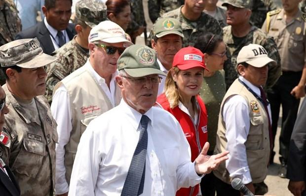 Tong thong Peru Pedro Pablo Kuczynski de don xin tu chuc hinh anh 1