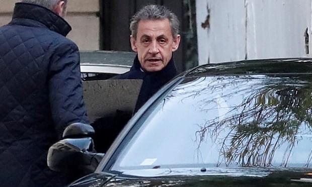 Cuu Tong thong Phap Nicolas Sarkozy chinh thuc bi dieu tra hinh anh 1