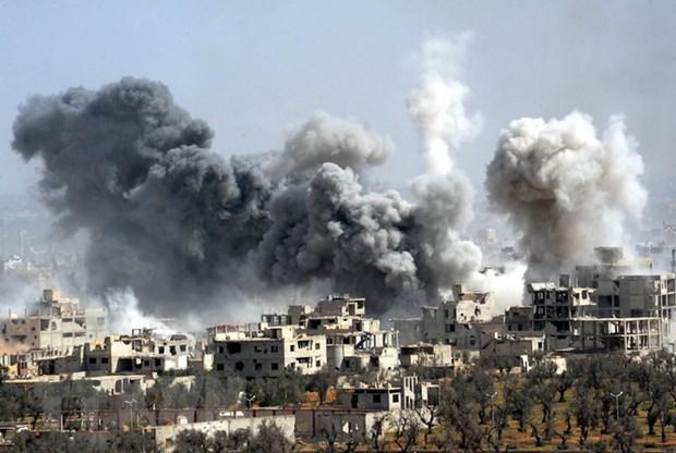 Nga khong tim thay bang chung ve tan cong hoa hoc tai Syria hinh anh 1
