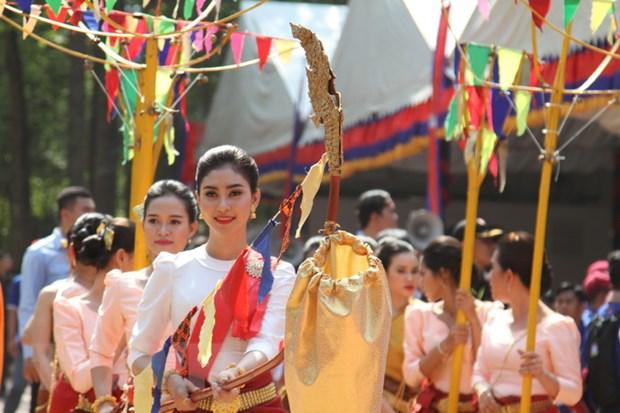 Thu tuong Campuchia chu tri le hoi Chol Chhnam Thmey tai Wangkor Wat hinh anh 3