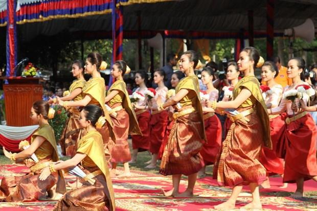 Thu tuong Campuchia chu tri le hoi Chol Chhnam Thmey tai Wangkor Wat hinh anh 2