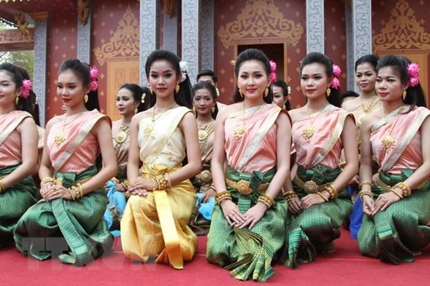 Thu tuong Campuchia chu tri le hoi Chol Chhnam Thmey tai Wangkor Wat hinh anh 1
