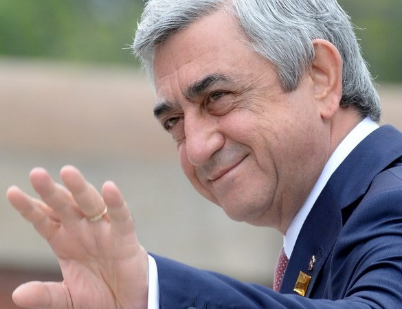 Thu tuong Armenia Serzh Sarksyan tuyen bo se tu chuc hinh anh 1