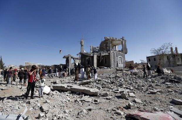 Yemen: Cac cuoc khong kich cua Saudi Arabia lam 40 nguoi thuong vong hinh anh 1