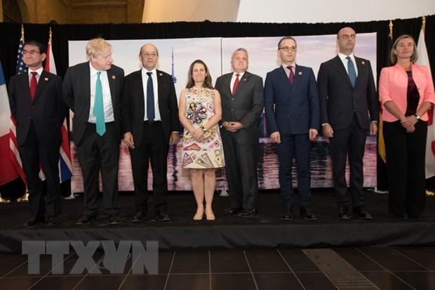 Hoi nghi Ngoai truong va An ninh G7 dua ra cac cam ket Toronto hinh anh 1