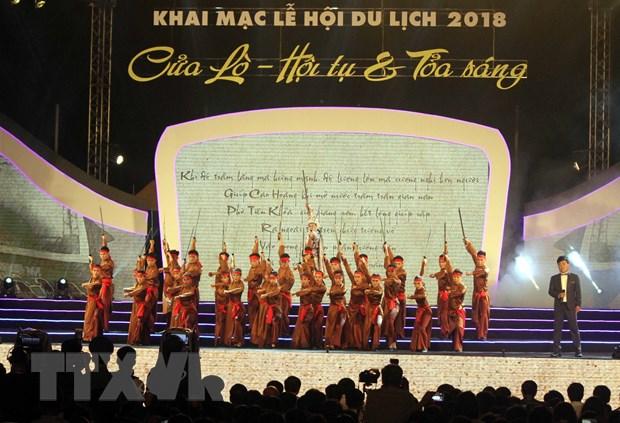 Pho Thu tuong Vuong Dinh Hue danh trong khai mac Le hoi du lich Cua Lo hinh anh 2