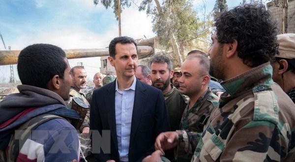 Phap nhuong bo ve tuong lai cua Tong thong Syria al-Assad hinh anh 1