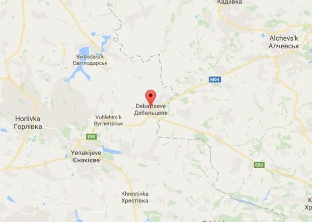 Ukraine: Luu dan phat no tren xe buyt, 4 hoc sinh thuong vong hinh anh 1