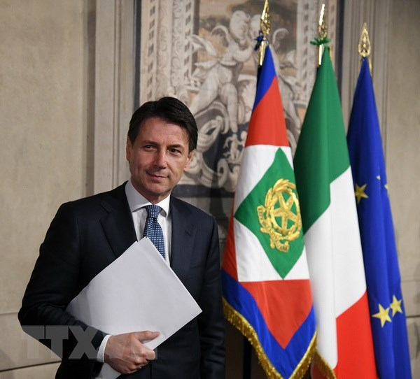 Italy: Giao su Conte duoc giao trach nhiem lap chinh phu lien minh hinh anh 1