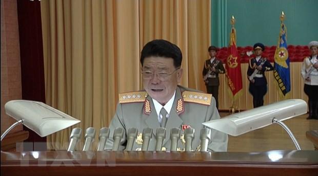 Hang tin Yonhap: Trieu Tien thay Bo truong Quoc phong hinh anh 1