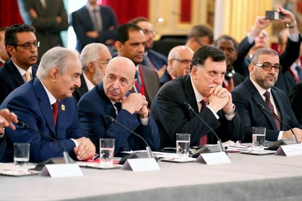 Libya: Quoc hoi mien Dong ung ho Chinh phu lam thoi sau Hoi nghi Paris hinh anh 1