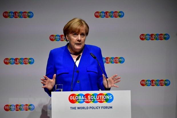 Thu tuong Duc Angela Merkel ung ho ke hoach cai cach Eurozone hinh anh 1