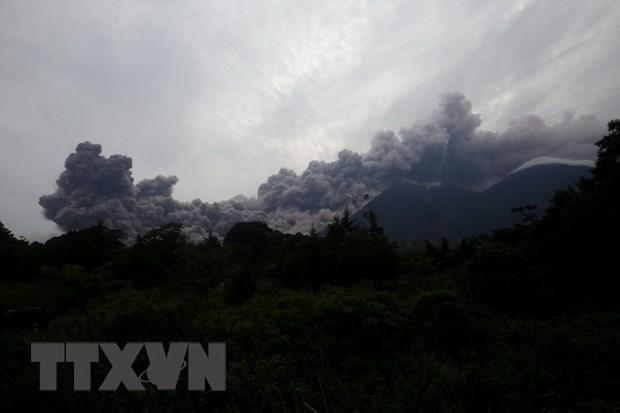 Vu nui lua Fuego phun trao: Guatemala tuyen bo quoc tang 3 ngay hinh anh 1