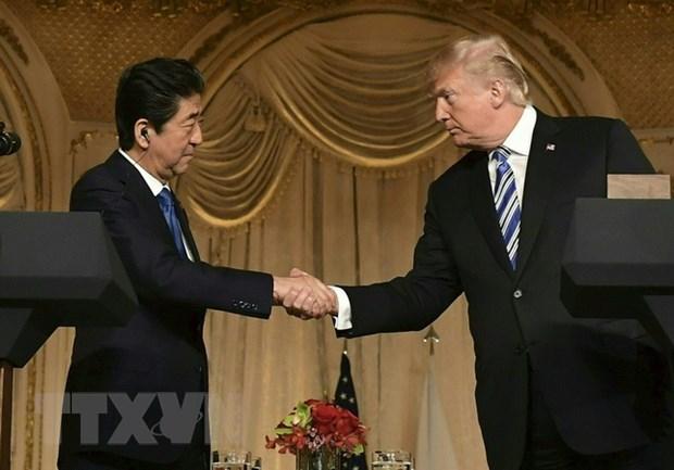 Thu tuong Nhat Ban Shinzo Abe roi Tokyo, len duong tham My hinh anh 1