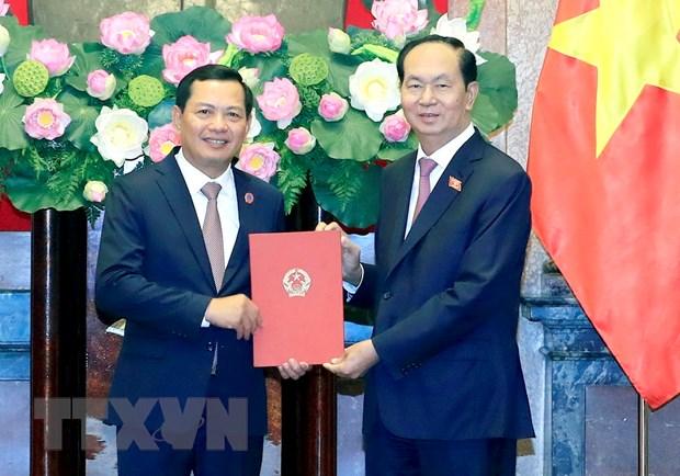 Bo nhiem Pho Chanh an Toa an Nhan dan toi cao Nguyen Van Du hinh anh 1