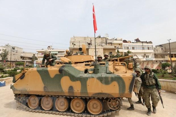 Tong thong Tho Nhi Ky de doa tan cong phien quan o Iraq hinh anh 1