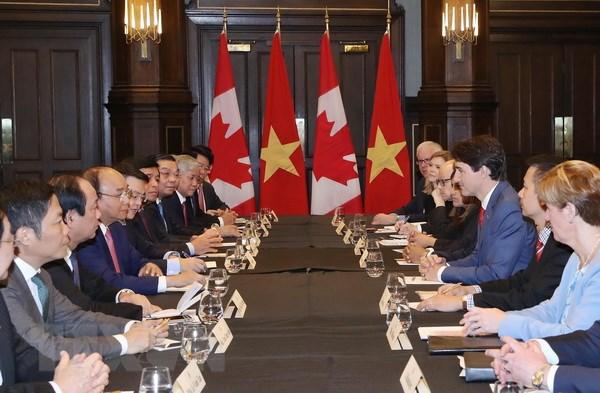 Thu tuong Justin Trudeau: Viet Nam la doi tac quan trong cua Canada hinh anh 2