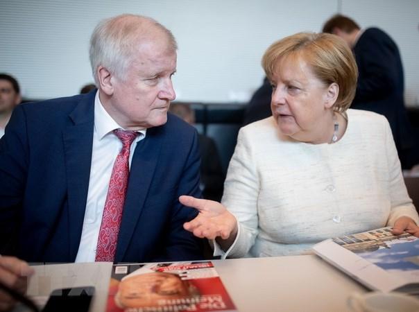 Bo truong Noi vu Duc khong the lam viec voi Thu tuong Merkel hinh anh 1
