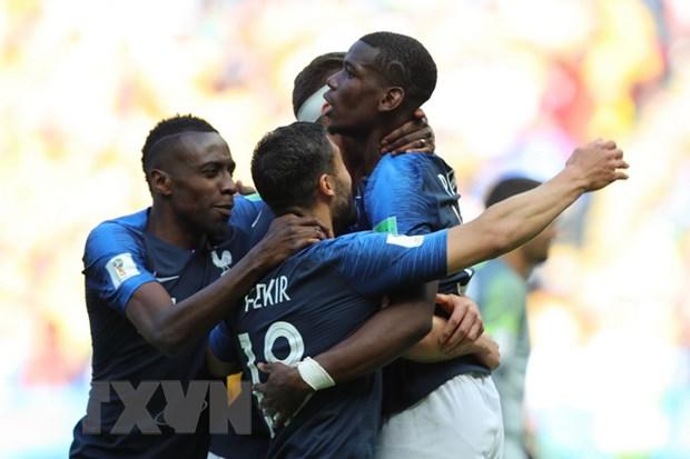 Paul Pogba va su menh nang tam tuyen Phap o World Cup 2018 hinh anh 1