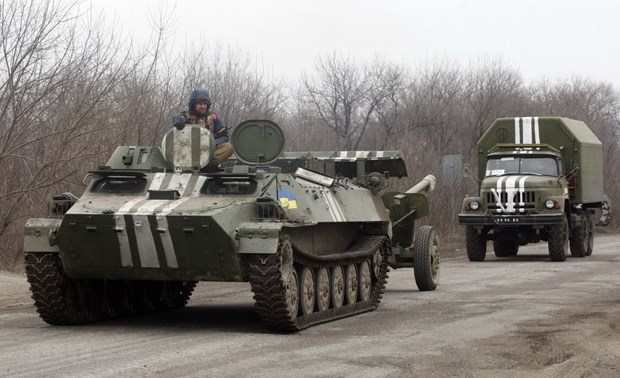 Thai Lan va Ukraine nghien cuu hop tac san xuat xe boc thep hinh anh 1