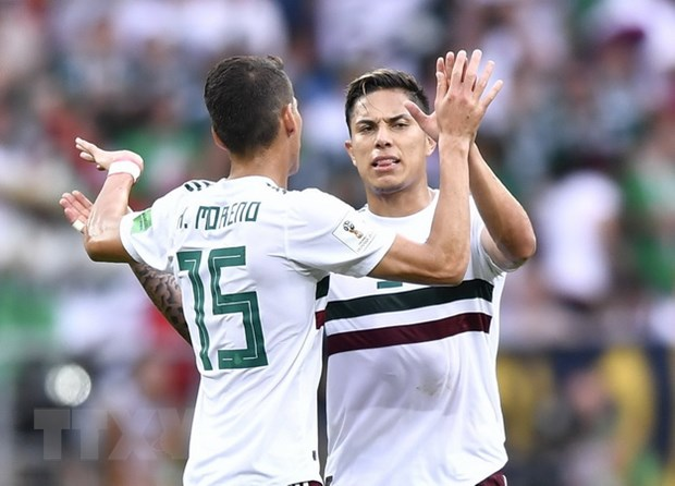 Mexico co loi choi hap dan nhat tai vong dau bang World Cup 2018 hinh anh 1