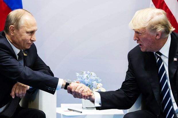Global Times: Hoi nghi Trump-Putin thao go nhieu van de quan trong hinh anh 1