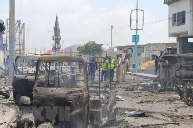 Somalia bat giu cac nghi pham danh bom xe tai Mogadishu hinh anh 1
