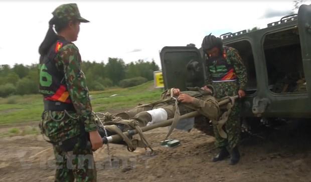 Viet Nam gay an tuong trong lan dau tien tham du Army Games 2018 hinh anh 2