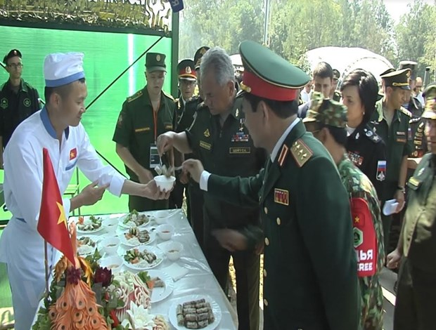 Viet Nam gay an tuong trong lan dau tien tham du Army Games 2018 hinh anh 3