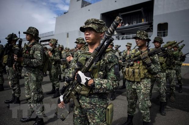 Quan doi Philippines tang cuong truy quet phien quan Abu Sayyaf hinh anh 1