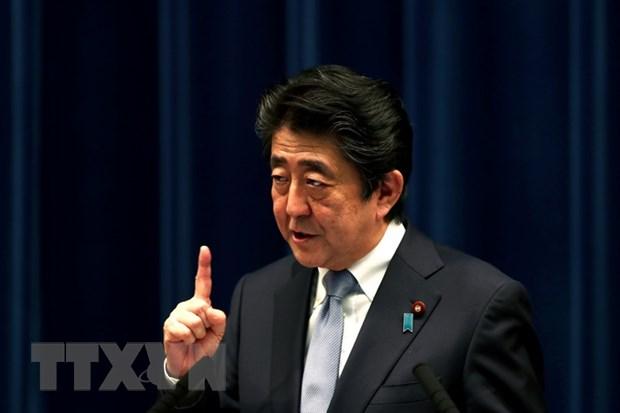 Thu tuong Nhat Ban Shinzo Abe chi thi tang cuong nang luc quoc phong hinh anh 1