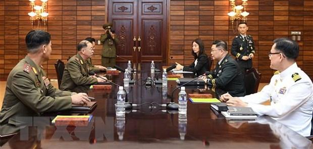 Hai mien Trieu Tien dong y giai giap khu vuc an ninh chung hinh anh 1