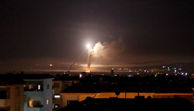 Truyen thong Syria: He thong phong khong da ban ha ten lua cua Israel hinh anh 1