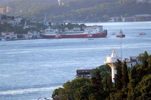 Tho Nhi Ky day manh ke hoach xay dung Kenh dao Istanbul hinh anh 1