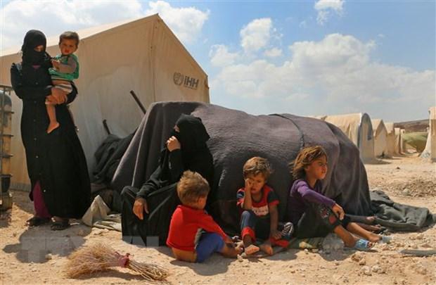 Hang nghin nguoi dan Syria tro ve Idlib sau thoa thuan moi hinh anh 1