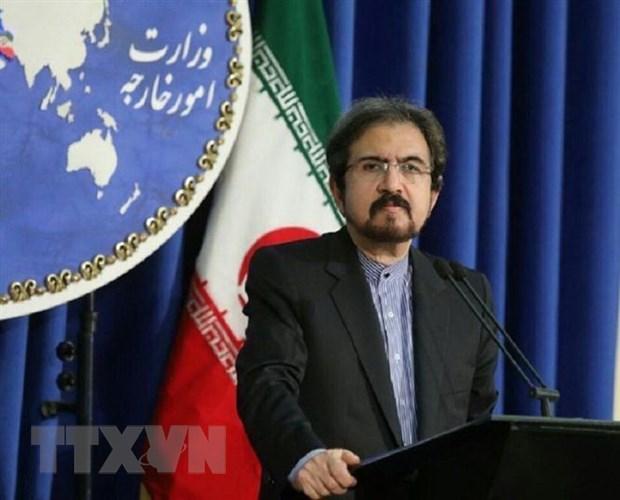 Iran chi trich viec Phap phong toa tai san, bat giu nha ngoai giao hinh anh 1